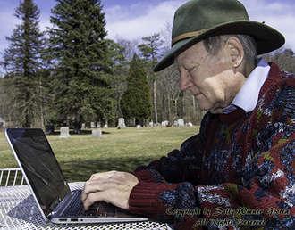 Daniel Grotta, writer, by Sally Wiener Grotta